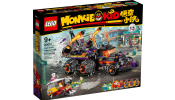 LEGO Monkie Kid 80011 Red Son pokoli kocsija