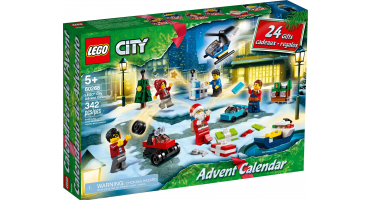 LEGO adventi naptárak 60268 City adventi naptár (2020)