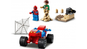 LEGO Super Heroes 76172 Spider-Man and Sandman Showd..